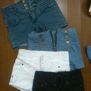 高腰牛仔短褲 (金錢or換物)