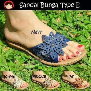 PROMO Sandal Bunga Tipe E