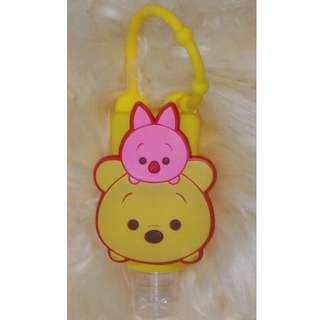 Item 53) Yellow Winnie n Piglet Sanitizer
