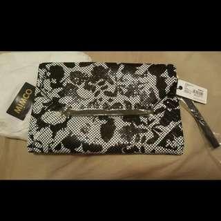 BNWT Mimco Origami Envelop Rrp $249