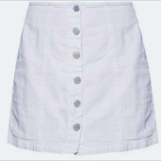 💰LIGHT BLUE DENIM BUTTON DOWN SKIRT