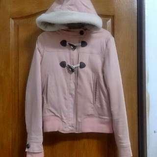 Chica 蓮藕粉 大衣 外套
