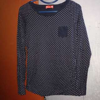 Padini PDI Basics Polca Dots Top