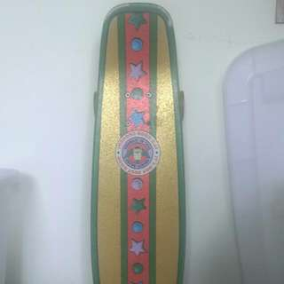 Santa辛普森滑板 交通板