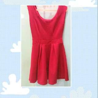 Mini Dress Fusia