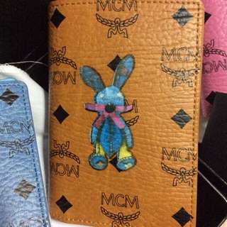 Factory Clearance Sales !! No Nego ! Authentic MCM RABBIT PASSPORT HOLDER NEW IN BOX