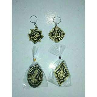 Souvenir Pernikahan Gantungan Kunci Kaligrafi