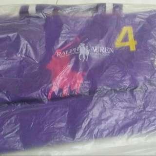 Authentic BRAND NEW Ralph Lauren Purple Tote bag