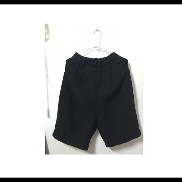 西裝五分短褲