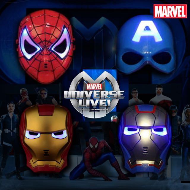 鋼鐵人套餐 手套發射器 發光面具 玩具 蜘蛛人 美國隊長 鋼鐵人 蝙蝠俠