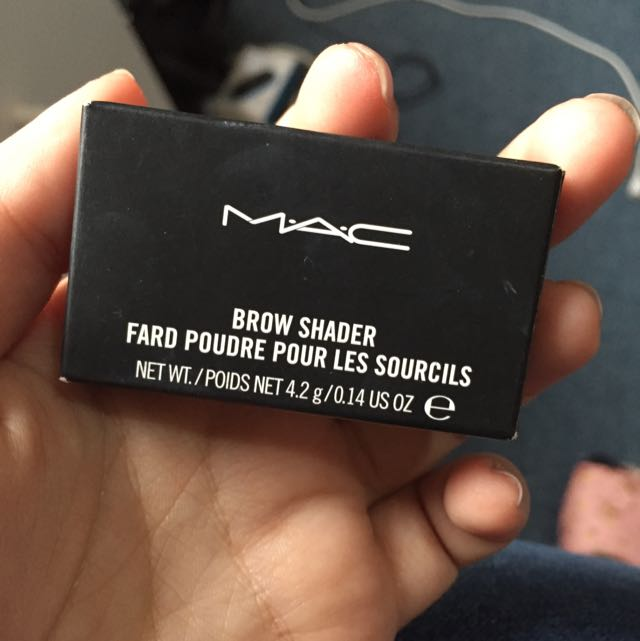 AUTHENTIC MAC BROW SHADER