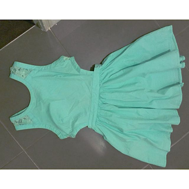 Blue Cutout Dress