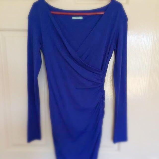 Blue Kookai dress