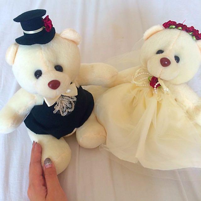 Couple Bear Bisa Juga Untuk Seserahan