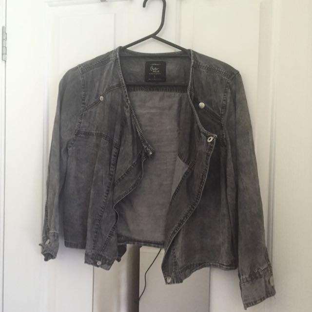 Denim Look Jacket