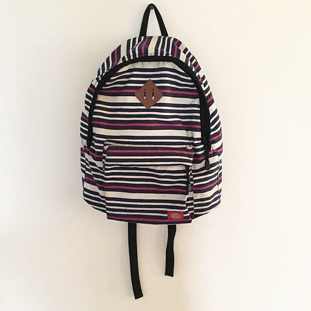 Dickes 條紋後背包💕