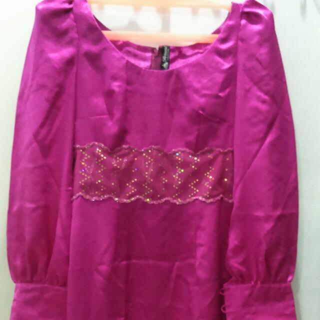 Dress Fushia