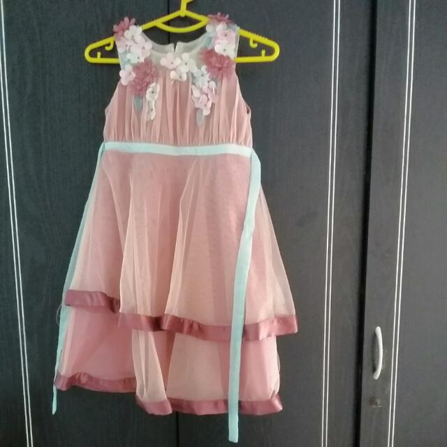 Dress Pesta DONITA (6 -8 thn)