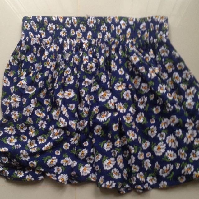 Forever 21 Flower Skirts