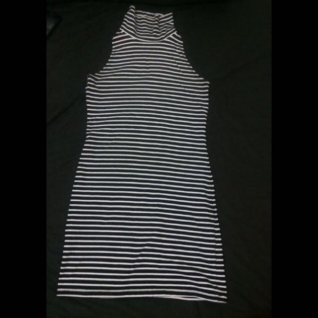 Forever 21 Turtle Neck Bodycon Mini Dress