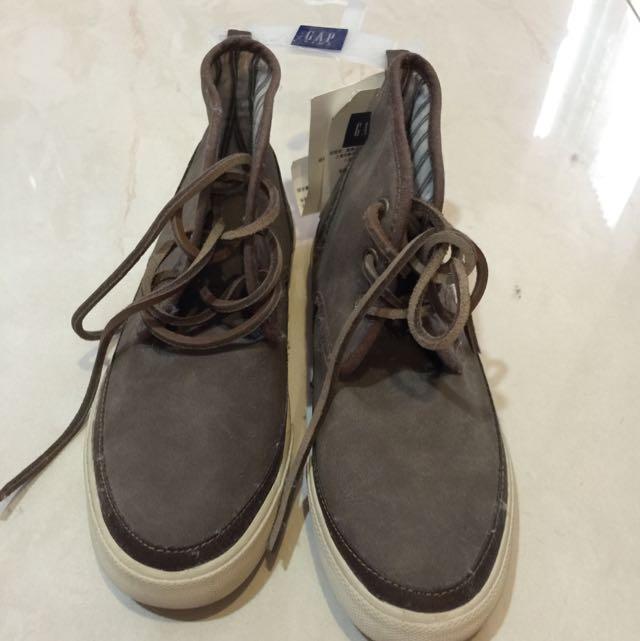 全新GAP男童高筒鞋