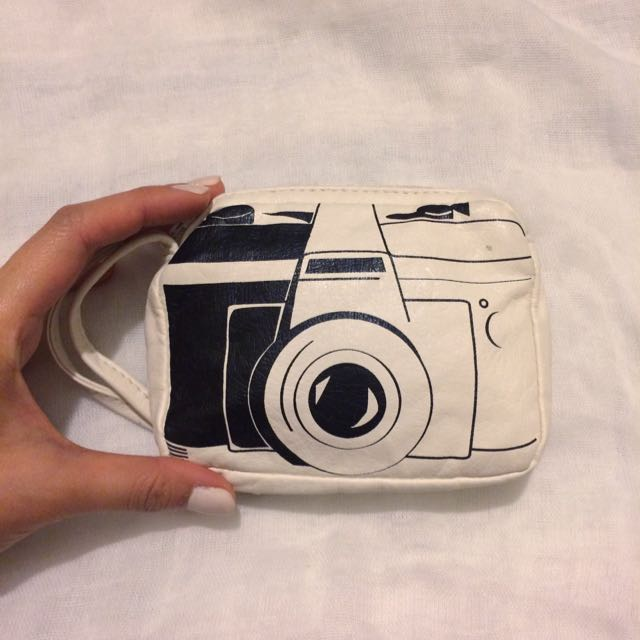 H&M Camera Logo Multipurpose Purse
