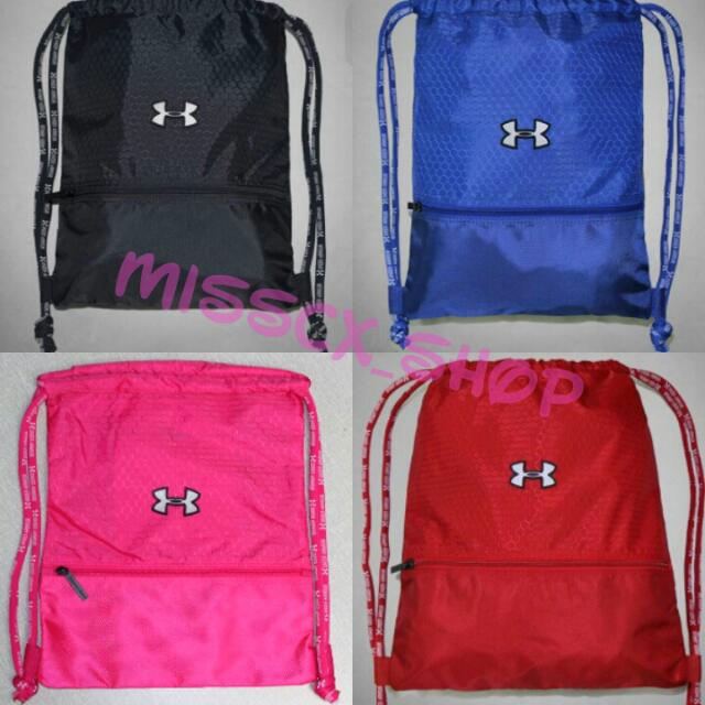 2df373129f57 🔥HOT!🔥Under Armour Waterproof Sport Drawstring Bags🚫💦💦Authentic ...
