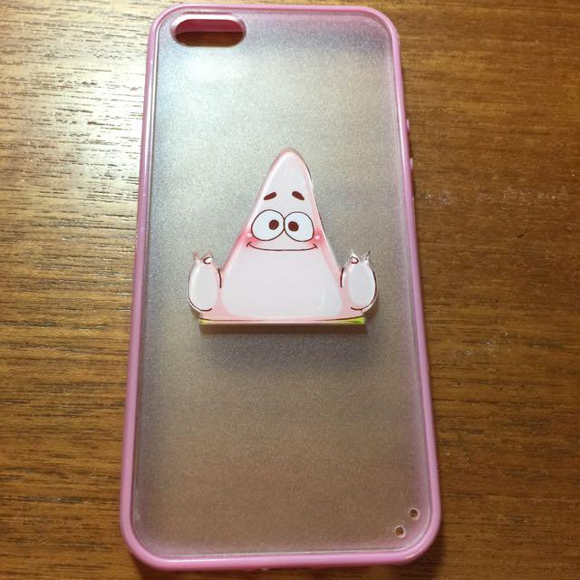 iPhone5 5s SE 手機殼 派大星 透明 殼