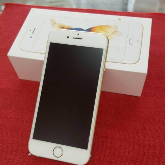 iphone6s金色16g