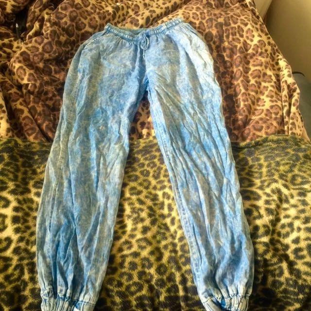 jean looking pants
