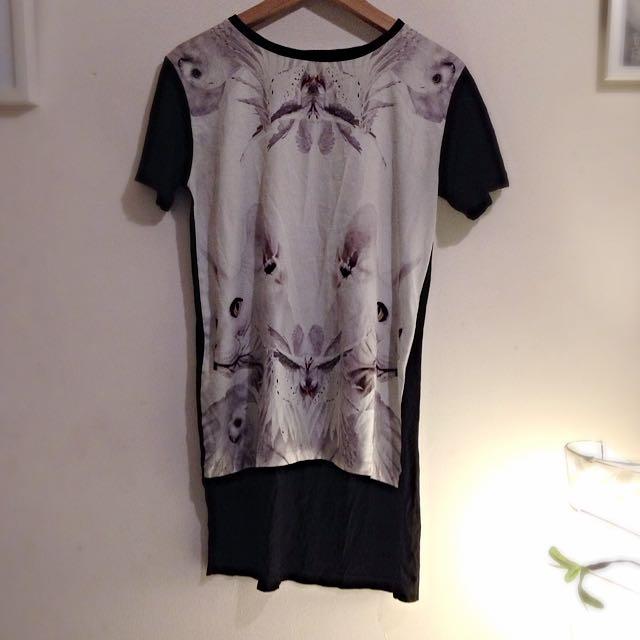 La La Love London Long T Shirt 100% Cotton