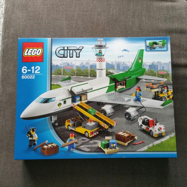 Lego City Cargo Terminal 60022 Toys Games Bricks Figurines On
