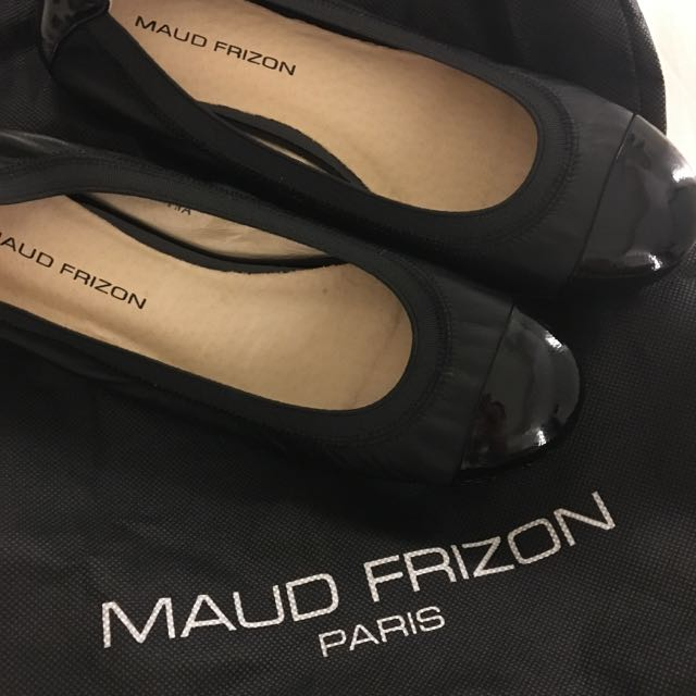 Maud Frizon paris 36 平底鞋 娃娃鞋 全新 經典款 巴黎