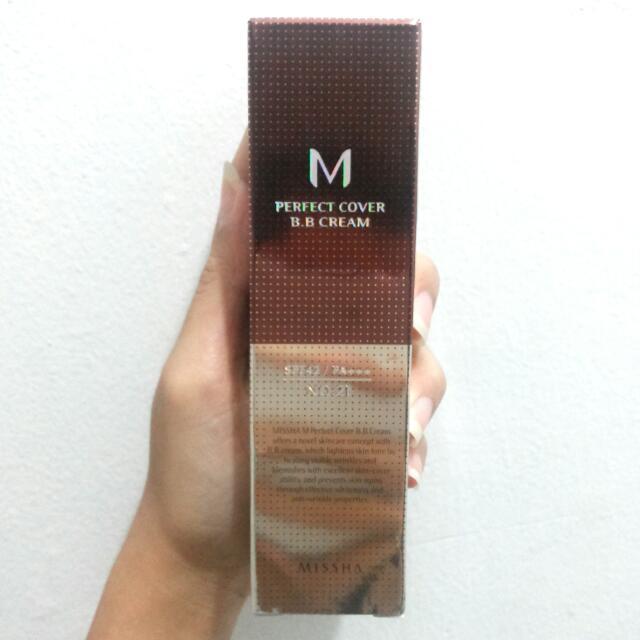 MISSHA M Perfect Cover BB Cream ORIGINAL Shade No.21