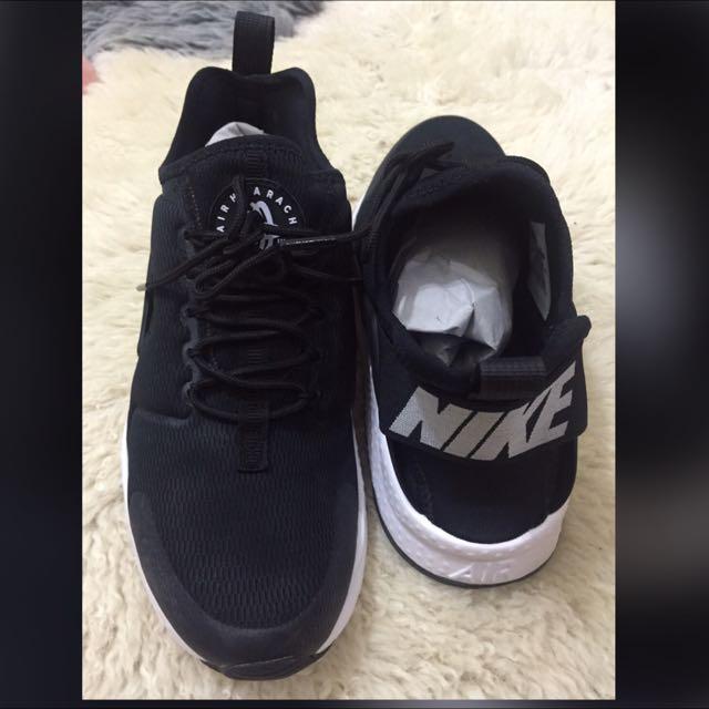 Nike Air Huarache Ultra 黑白 武士 2代