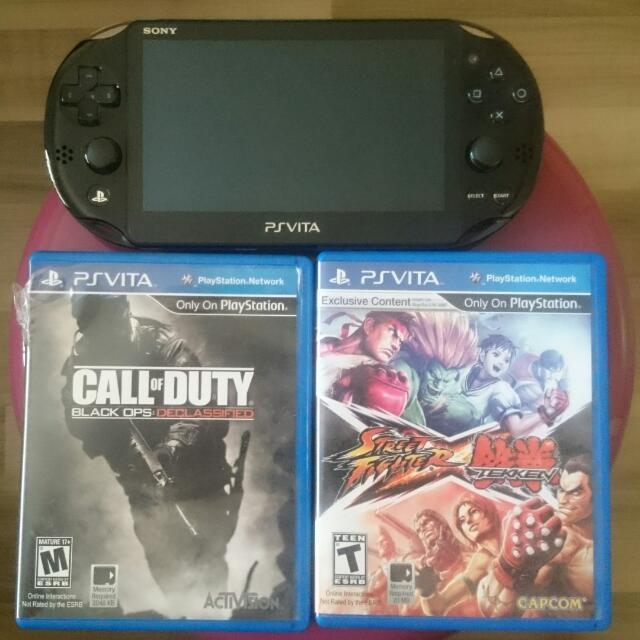 Psvita Model Pch - 2006 With 2 Games