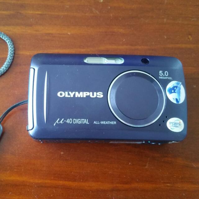 Purple M40 Camera