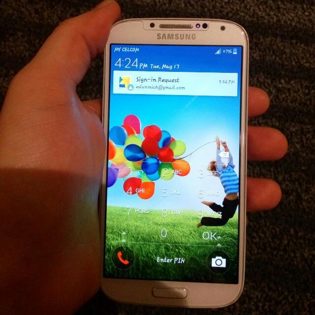 (reserved) Samsung Galaxy S4
