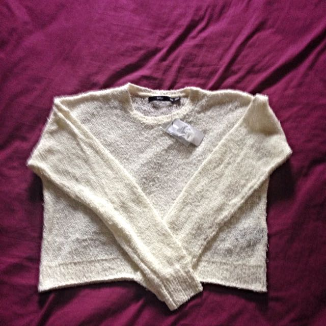 Sportsgirl Cropped Top- XXS