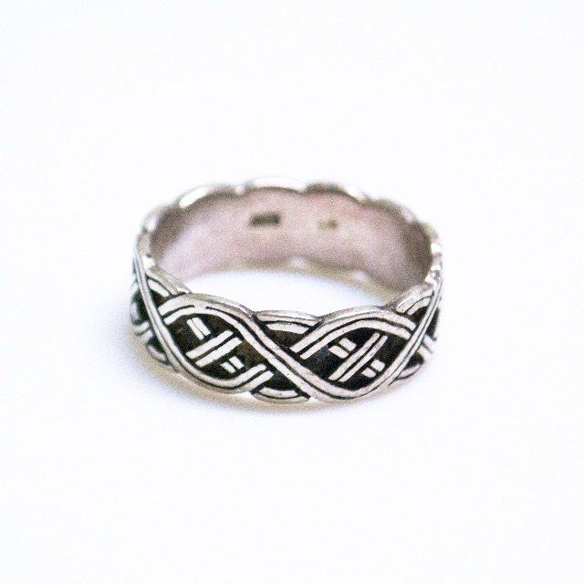 Sterling Silver Celtic Ring by Silver Phantasy