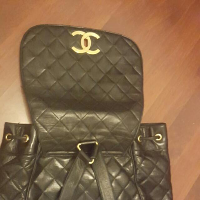 Authentic Vintage Chanel Backpack