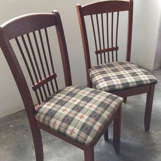 Wooden Chairs (country Style)