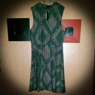 Plus Size Printed Dress 2X