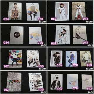 INFINITE Collection Card Vol. 2 Space: The Arts (Sunggyu, Dongwoo, Hoya, Sungyeol, Myungsoo, Sungjong)