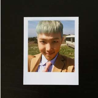 BTS 화양연화 The Most Beautiful Moment In Life Young Forever Namjoon (Rap Monster) polaroid