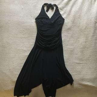 Black Halter neck Dress