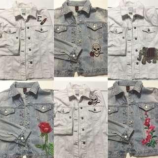 Denim Jackets Custom Made