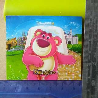 迪士尼貼紙-勞蘇