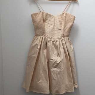 100% Silk Dress Size 8