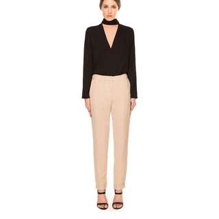 BNWT Cameo (C/MEO COLLECTIVE) class act pant/pants beige biscuit size S